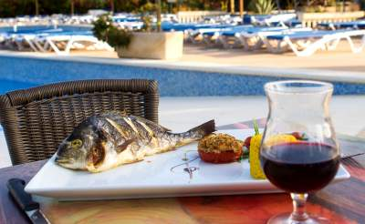 restaurant et demi pension au camping