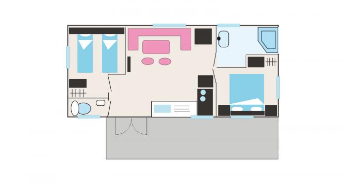 Plano del alojamiento