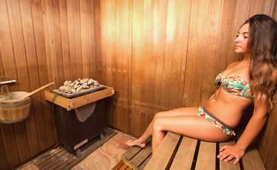 camping sauna