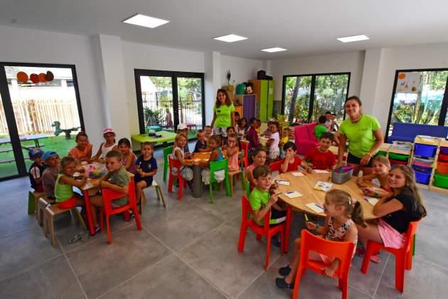 club enfant camping mimosas