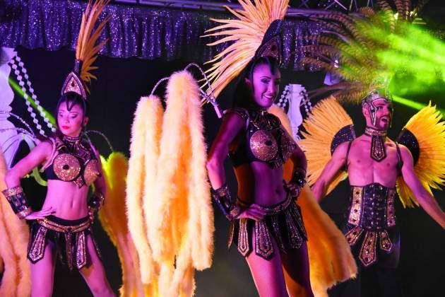 soiree cabaret camping mimosas