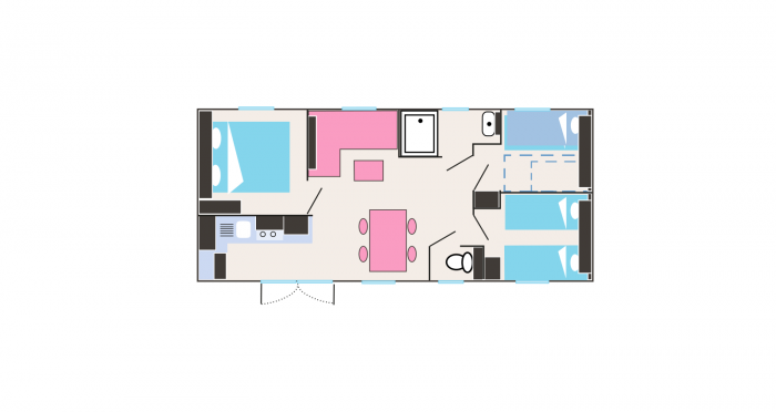 Map of the rental